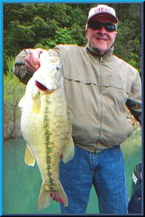 Bullards Bar - 7 lb 14 oz Spotted Bass