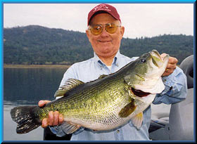 12 lb. 11 oz. Collins Lake bass, December 2003
